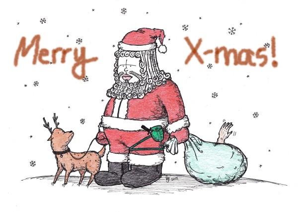 Gambar 1  Merry Christmas!!